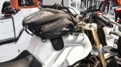 Mahindra Mojo accessories magnetic tank bag at Auto Expo 2016