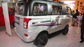 Mahindra Supro Customised rear three quarter at Auto Expo 2016
