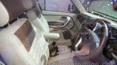 Mahindra TUV300 Endurance edition front seats at the Auto Expo
