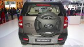 Mahindra TUV300 Endurance edition rear at the Auto Expo