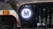 Mahindra Thar custom LED headlamp at Auto Expo 2016