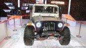Mahindra Thar custom front at Auto Expo 2016