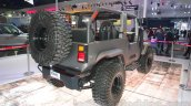 Mahindra Thar custom rear three quarter right at Auto Expo 2016