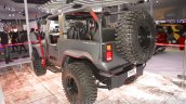 Mahindra Thar custom rear three quarters at Auto Expo 2016