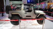 Mahindra Thar custom side profile at Auto Expo 2016