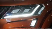 Mahindra XUV Aero LED lights at Auto Expo 2016