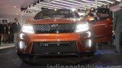 Mahindra XUV Aero front fascia at Auto Expo 2016