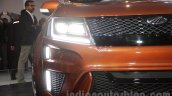 Mahindra XUV Aero headlights at Auto Expo 2016