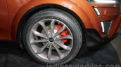 Mahindra XUV Aero wheel at Auto Expo 2016