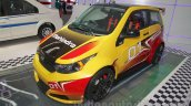 Mahindra e2o Sports front three quarter at Auto Expo 2016