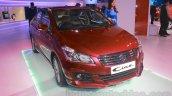 Maruti Ciaz accessorized front three quarters left at Auto Expo 2016