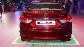 Maruti Ciaz accessorized rear at Auto Expo 2016