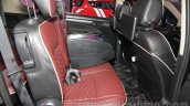 Maruti Ertiga Limited Edition rear seat at the Auto Expo 2016
