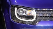 Maruti Ignis concept headlight at the Auto Expo 2016