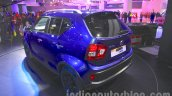 Maruti Ignis rear three quarters at the Auto Expo 2016