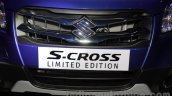 Maruti S-Cross Limited Edition grille at the Auto Expo 2016