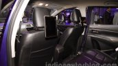 Maruti S-Cross Limited Edition rear entertainment at the Auto Expo 2016