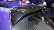 Maruti S-Cross Limited Edition rear spoiler at the Auto Expo 2016