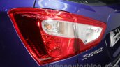 Maruti S-Cross Limited Edition taillamp at the Auto Expo 2016