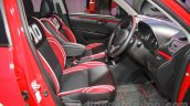 Maruti Swift Limited Edition front seat at Auto Expo 2016