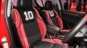 Maruti Swift Limited Edition front seats at Auto Expo 2016