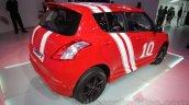 Maruti Swift Limited Edition rear quarter angle at Auto Expo 2016
