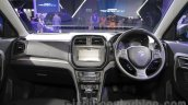 Maruti Vitara Brezza dashboard at the 2016 Auto Expo