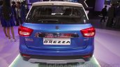 Maruti Vitara Brezza rear at the 2016 Auto Expo