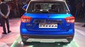 Maruti Vitara Brezza rear live Auto Expo 2016