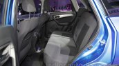 Maruti Vitara Brezza rear seat at the 2016 Auto Expo