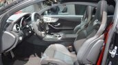 Mercedes-AMG C 43 Coupe front seats at 2016 Geneva Motor Show