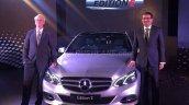 Mercedes E Class Edition E front quarter launched