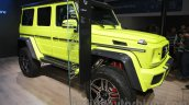 Mercedes G 500 4×4² at Auto Expo 2016