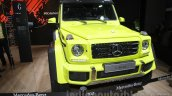 Mercedes G 500 4×4² front left three quarter at Auto Expo 2016