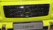 Mercedes G 500 4×4² grille at Auto Expo 2016