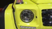 Mercedes G 500 4×4² headlamp at Auto Expo 2016