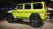 Mercedes G 500 4×4² rear three quarter at Auto Expo 2016