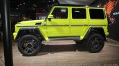 Mercedes G 500 4×4² side profile at Auto Expo 2016