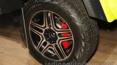 Mercedes G 500 4×4² wheel at Auto Expo 2016