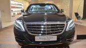 Mercedes-Maybach S 600 Guard front at the Geneva Motor Show Live