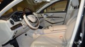Mercedes-Maybach S 600 Guard front cabin at the Geneva Motor Show Live