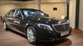 Mercedes-Maybach S 600 Guard front three quarter Geneva Motor Show Live