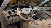 Mercedes-Maybach S 600 Guard interior at the Geneva Motor Show Live