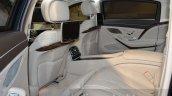 Mercedes-Maybach S 600 Guard rear seat at the Geneva Motor Show Live
