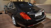 Mercedes-Maybach S 600 Guard rear three quarter at the Geneva Motor Show Live