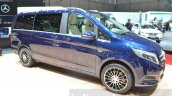 Mercedes V-Class Exclusive Edition front three quarters at the 2016 Geneva Motor Show