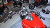 Moto Guzzi Eldorado handlebar at Auto Expo 2016