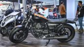 Moto Guzzi V9 Bobber side at Auto Expo 2016