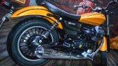 Moto Guzzi V9 Roamer exhaust at Auto Expo 2016