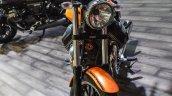 Moto Guzzi V9 Roamer front at Auto Expo 2016